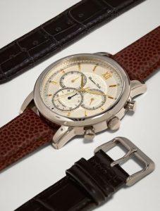 ανδρικό ρολόι δερμάτινο