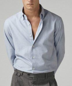 ανδρικό πουκάμισο σλιμ φιτ
