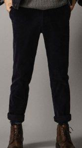ανδρικό κοτλέ παντελόνι