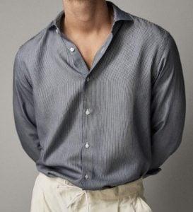 ριγέ πουκάμισο ανδρικό