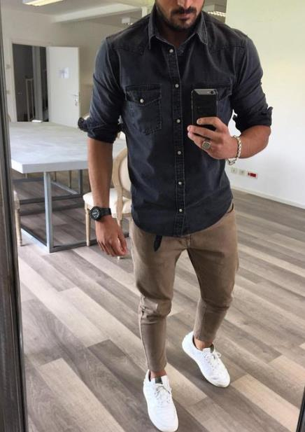 mens casual style