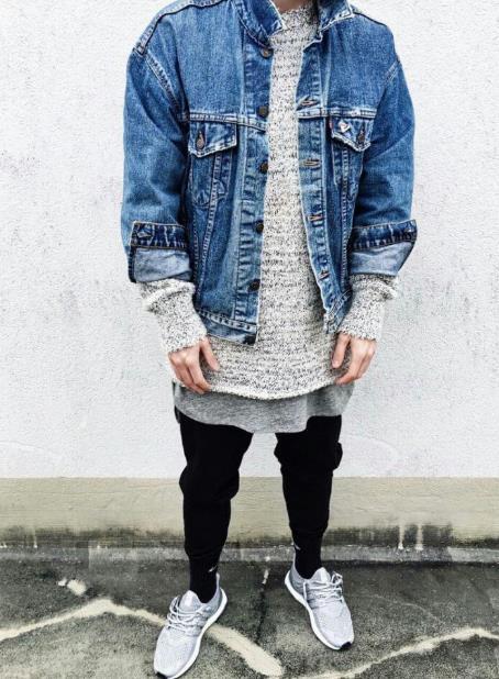 mens jean jacket