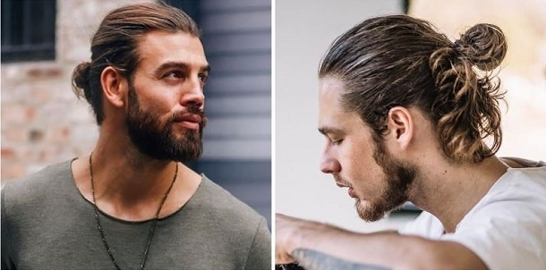 hairstyles Man Bun