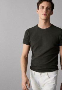 weave cotton tshirt, the-man.gr