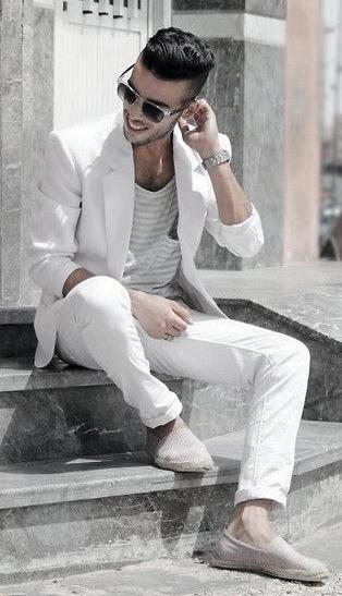 λευκό σακάκι