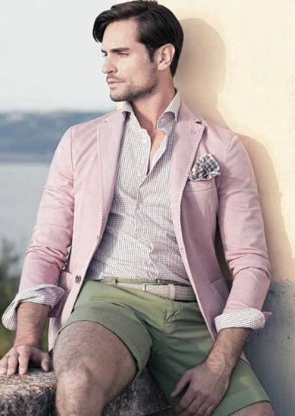 ροζ αντρικό σακάκι