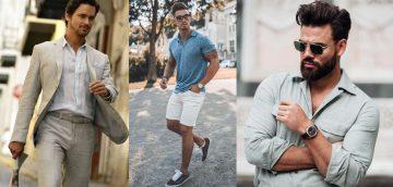 αντρικά καλοκαιρινά outfits για κάθε περίσταση