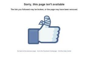 απενεργοποίηση προφίλ facebook