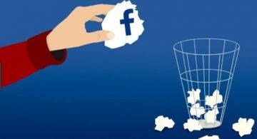 οριστική διαγραφή προφίλ facebook