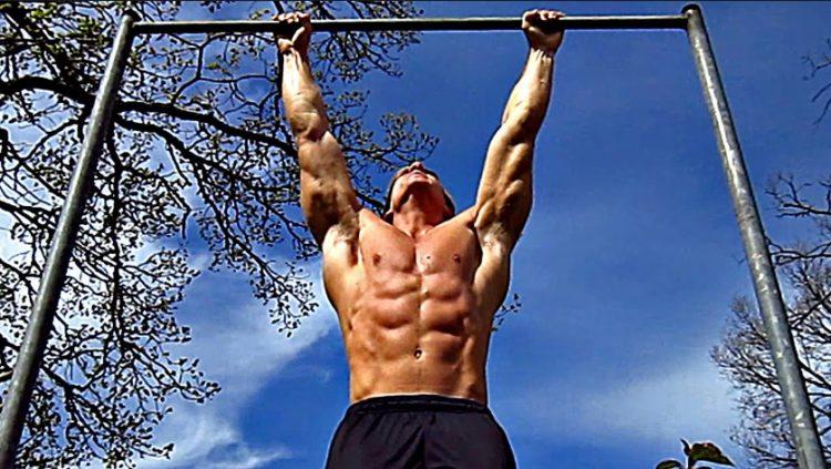 έντονη άσκηση μονόζυγο