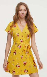 καλοκαιρινό floral φόρεμα