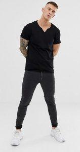 ανδρικές casual κοντομάνικες μπλούζες