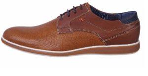 αντρικά παπούτσια καφέ διχρωμία