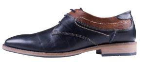αντρικά παπούτσια μαύρο καφε