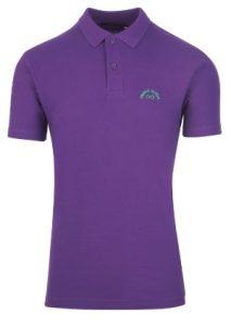αντρικό μπλουζάκι πόλο μοβ