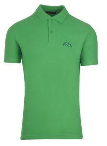 αντρικό μπλουζάκι πόλο πράσινο ανοιχτό
