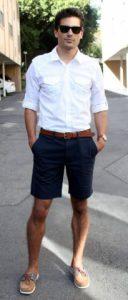 ντυσιμο με πουκαμισο και βερμουδα ανδρικο