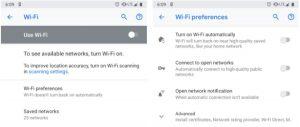 ρυθμίσεις wifi