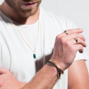 κοσμήματα για άντρες