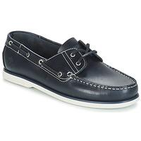 μπλε boat shoes