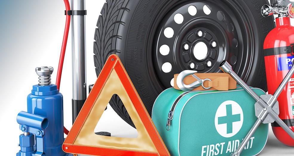 έλεγχος κιτ ασφαλείας αυτοκινήτου