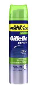 gilette series αφρός ξυρίσματος