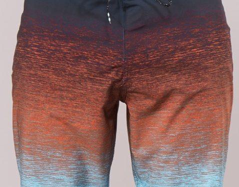 μακριά βερμούδα-μαγιό στενή γραμμή τριχρωμία