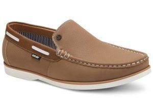 μπεζ loafers