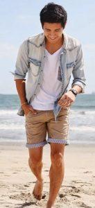 ντύσιμο άντρες jean πουκάμισο