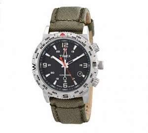 timex ανδρικό αδιάβροχο ρολόι με νάιλον λουρί