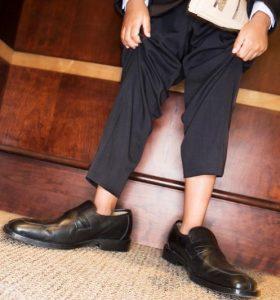 αντρικά παπούτσια λάθος νούμερο