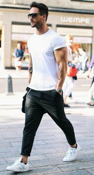 ντύσιμο με μαύρο παντελόνι