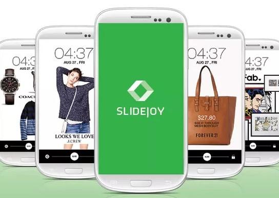 slidejoy εφαρμογή