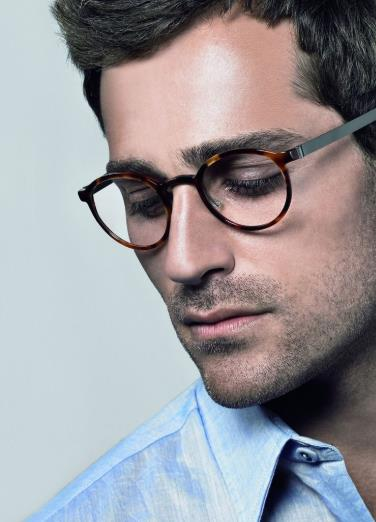 αντρικά γυαλιά σε στρογγυλό σχήμα