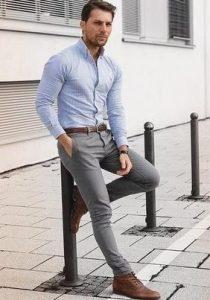 αντρικό chino παντελόνι