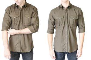 δίπλωμα μανικιών σε αντρικό πουκάμισο χωρίς να χάνεις το στυλ