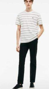 μαύρο chino παντελόνι
