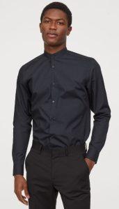 ανδρικά πουκάμισα h&m χειμώνας 2020