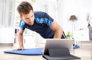 ασκήσεις γυμναστικής άντρες σπίτι