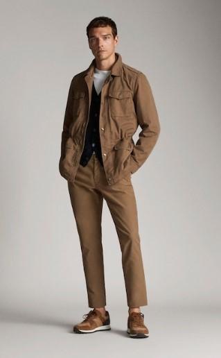 ταμπά βαμβακερό jacket