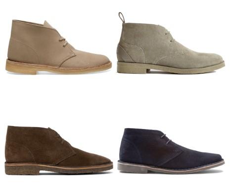 διάφορες desert μπότες