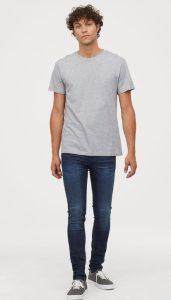 ελαστικό ξεβαμμένο jean άντρες