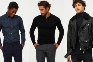 ανδρικά χειμερινά ρούχα H&M 2020