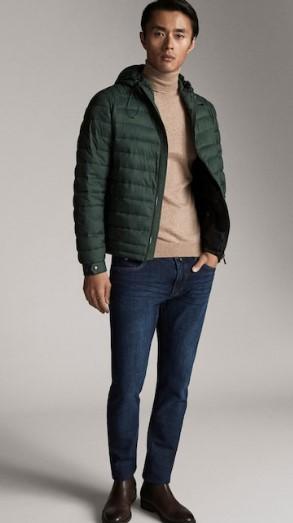 πράσινο jacket καπιτονέ