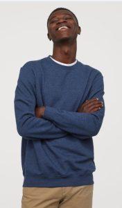 αντρικές μπλούζες h&m χειμώνας 2020