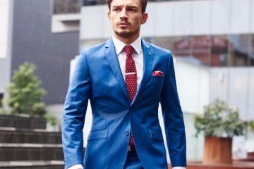 με τι να συνδυάσεις το μπλε κοστούμι σου