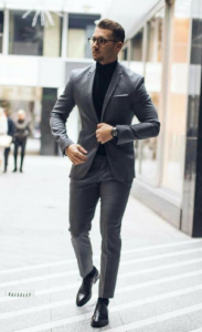 tailored παντελόνι με παπούτσια oxford