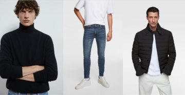 Ανδρικά χειμωνιάτικα ρούχα zara 2020
