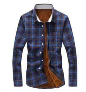 μοντέρνο ανδρικό κάρο πουκάμισο