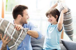 άνδρας ραντεβού γυναίκα με παιδί